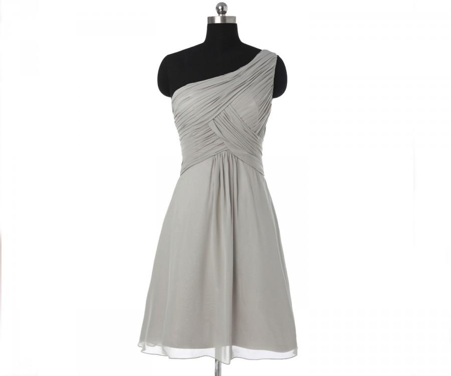 98d7a65c974 Silver Short Bridesmaid Dresses