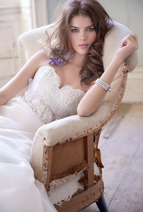 Wedding - Jim Hjelm - 8308 - Stunning Cheap Wedding Dresses