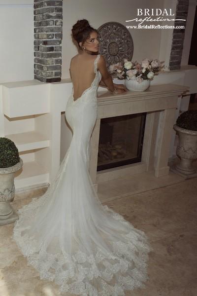 Mariage - Galia Lahav Juno (back) - Burgundy Evening Dresses