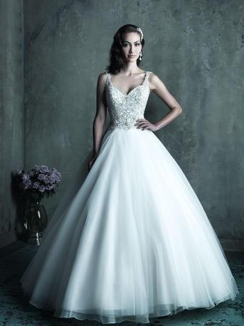 Hochzeit - Allure Bridals Couture C290 - Branded Bridal Gowns