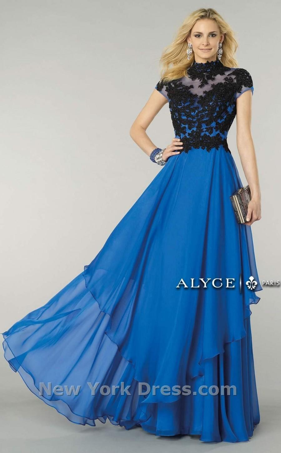 Wedding - Alyce 6386 - Charming Wedding Party Dresses