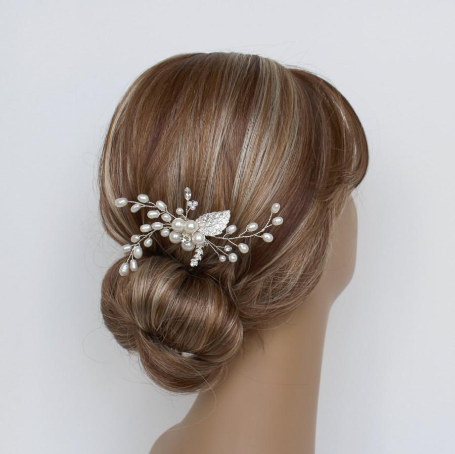 Mariage - Pearl Bridal Hair Comb, RACHEL  Hair Comb, Bridal hairpiece, Wedding hair accessories, Bridal Headpieces, Bridal Hair Accessories