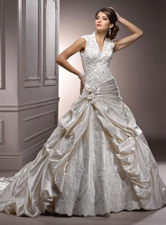 Mariage - Maggie Bridal by Maggie Sottero Perla Lynette-A3632 - Branded Bridal Gowns