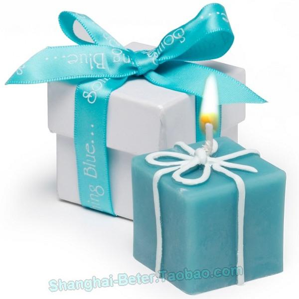 Beter Gifts Tiffany Blue Candle Favors Bridesmaids Bridal Birthday Lz028 A