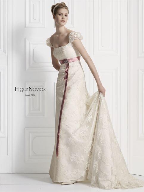 mod 5118 (higar novias) - vestidos de novia 2016 #2568277 - weddbook