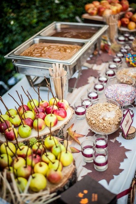 Wedding Theme Top 30 Wedding Food Bars Youll Love 2568303 Weddbook