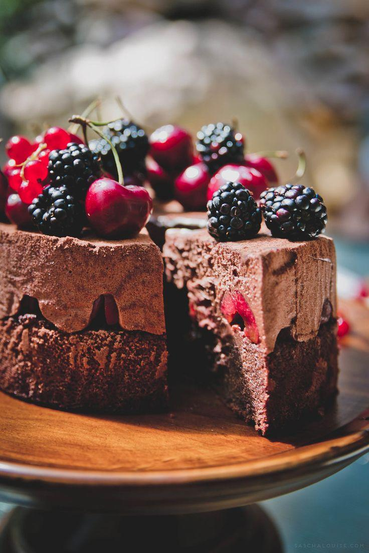 Свадьба - Black Forest Mousse Cake