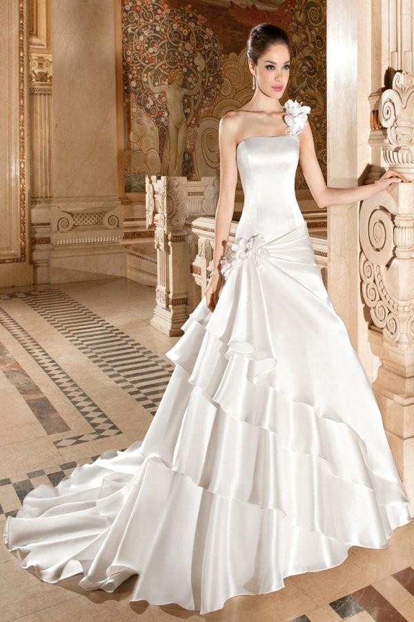 Wedding - Illusions by Demetrios Style 3227 - Fantastic Wedding Dresses