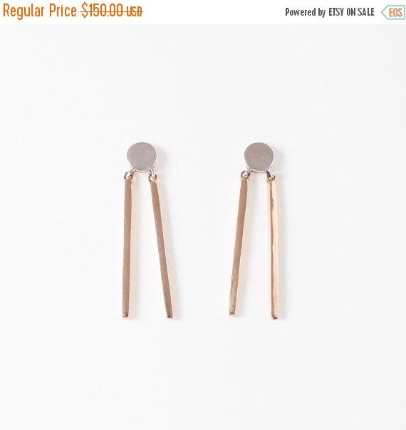 Mariage - SALE // 25% OFF // Double Stick Earrings