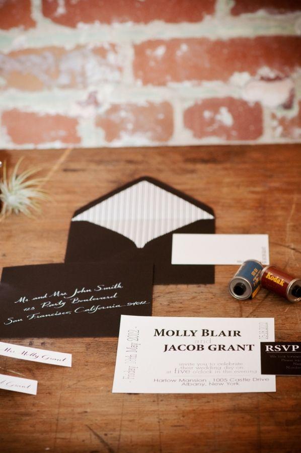 Film Wedding Invitation - Wedding Invitations