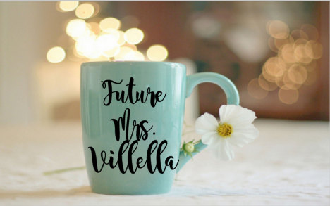 Mariage - engagement mug, engagement cup, future mrs mug, future mrs cup