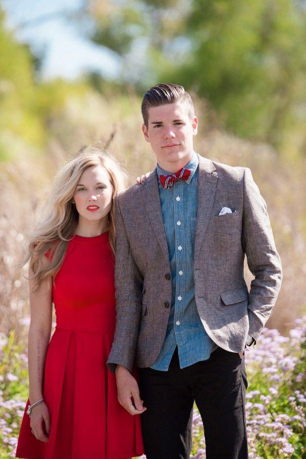 Mariage - Fashionable Fall Engagement Shoot