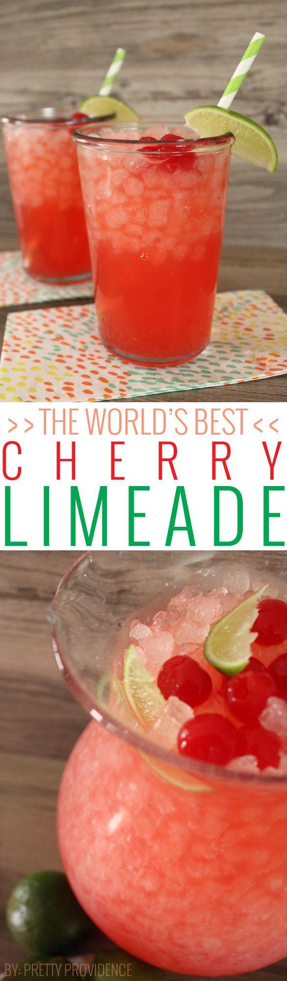 Hochzeit - The World's Best Cherry Limeade