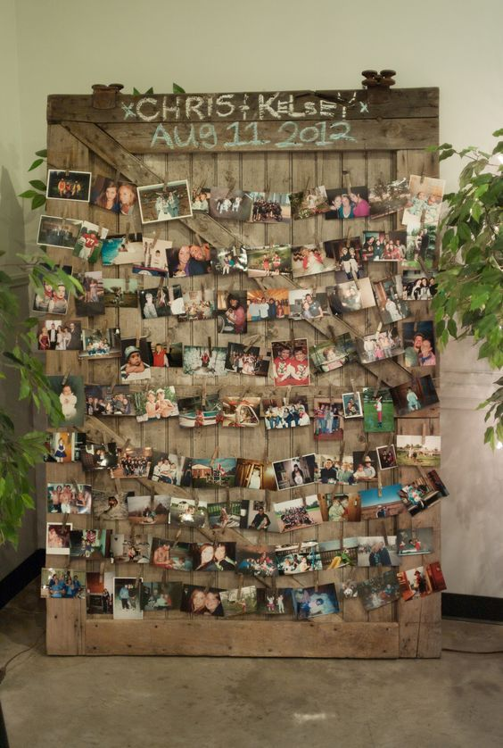 Свадьба - 30 Wedding Photo Display Ideas You'll Want To Try Immediately