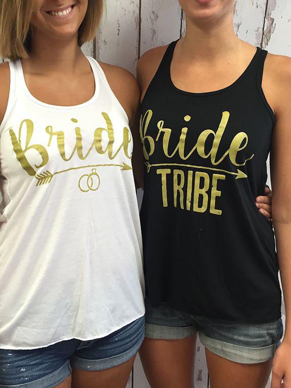 Mariage - Bride Tribe - Bulk Bridal Party Tank Tops Premium