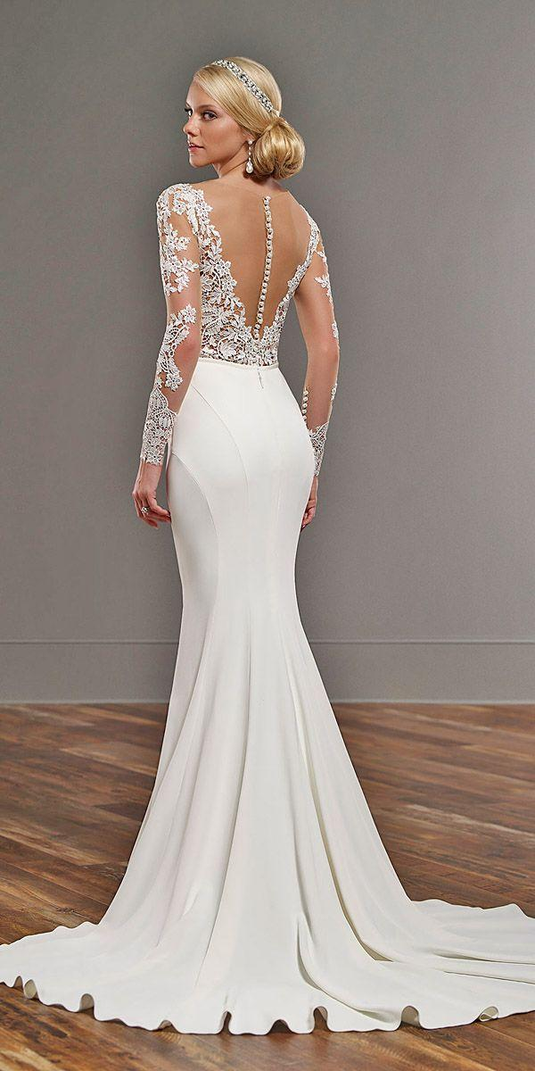 Wedding - 21 Gorgeous Tattoo Effect Wedding Dresses