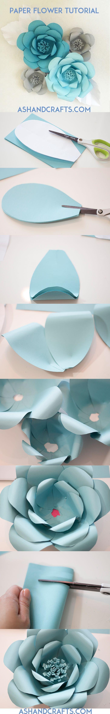Свадьба - Paper Flower Backdrop