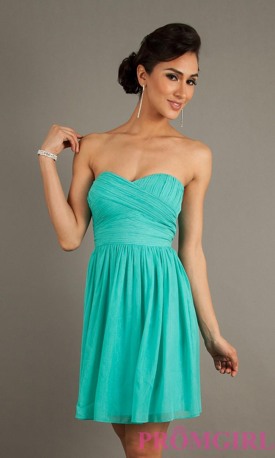 Short Strapless Black Dress - Brand Prom Dresses #2569036 - Weddbook
