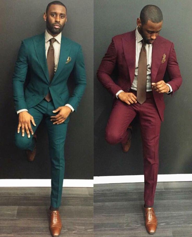 Свадьба - Groom Colored Suit
