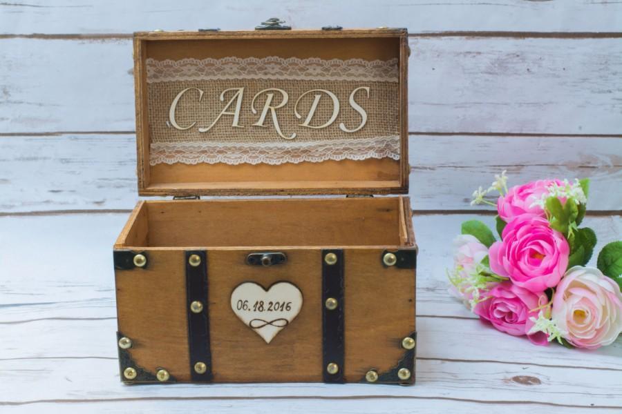 Wedding Card Box Banner Sunflower Rustic Card Box Advice Box Wedding ...
