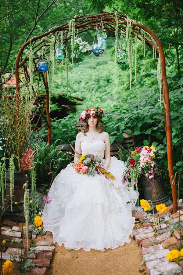 Wedding Theme Edgy Bohemian Wedding Inspiration 2569279 Weddbook