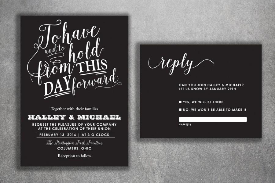 chalkboard wedding invitations set printed cheap wedding