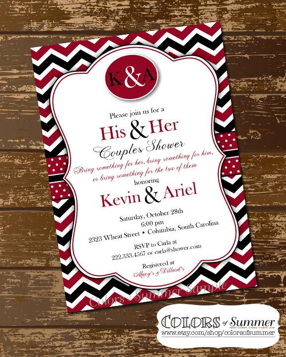His And Hers Wedding Shower Invitations Katinabags – His and Her Wedding Shower Invitations