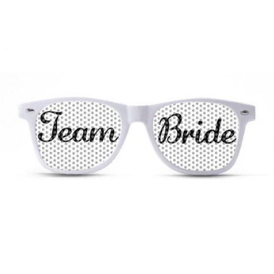 Wedding - Team Bride Script Sunglasses/Wedding Sunglasses/Wedding Party Shades