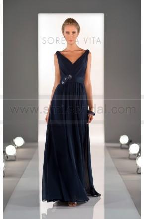 Mariage - Sorella Vita Navy Blue Bridesmaid Dress Style 8360 - Bridesmaid Dresses 2016 - Bridesmaid Dresses