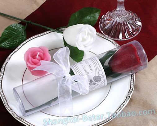 Wedding - Rose Candles Valentine'S day     BETER-LZ012