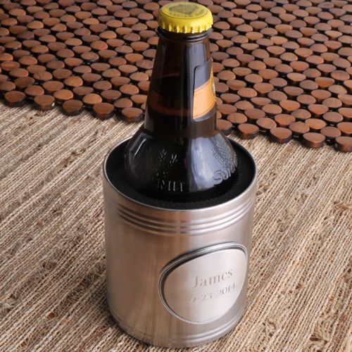 Свадьба - Personalized Beer Koozie For Groomsmen