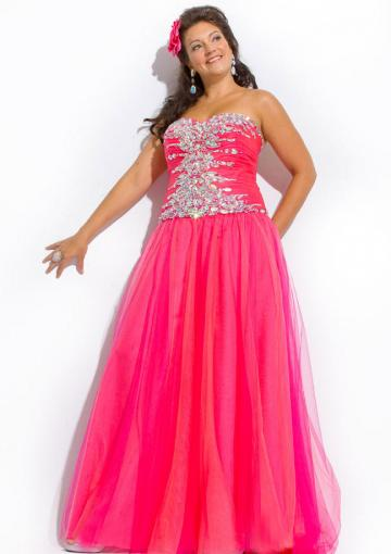 Hochzeit - Fuchsia Blue Floor Length Sweetheart Lace Up Crystals Tulle Sleeveless