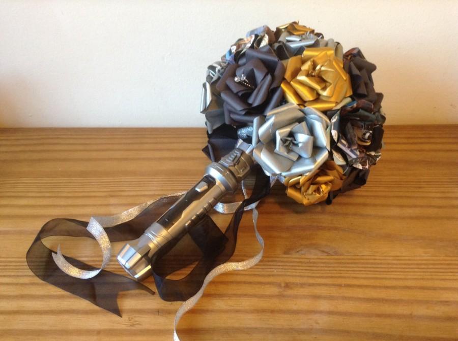 Wedding - Star Wars bouquet  Star Wars wedding alternative bouquet