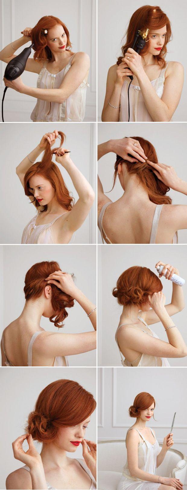 Wedding - 10 Best DIY Wedding Hairstyles With Tutorials
