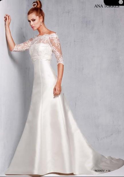 Wedding - N0940V (Ana Torres) - Vestidos de novia 2016