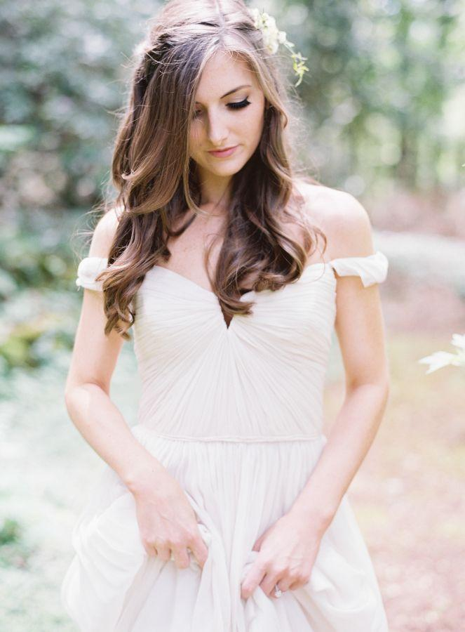 Wedding - A Secret Garden Wedding Complete With Dreamy Dress   DIY Details
