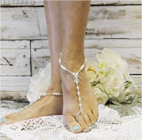 Wedding - GUARDIAN ANGEL - wedding barefoot sandals