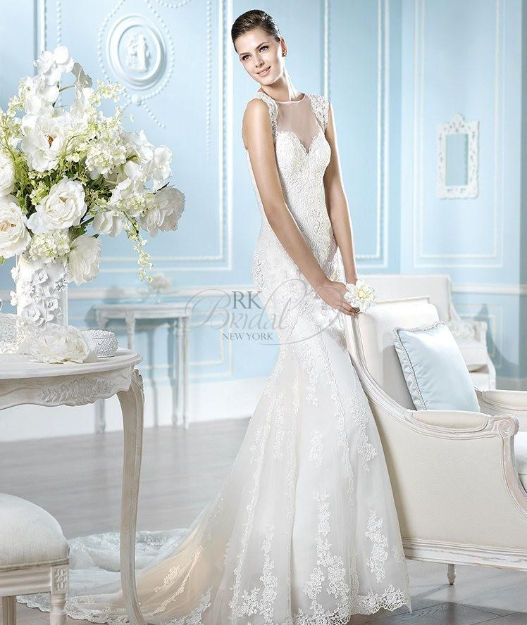 Wedding - San Patrick Spring 2014 - Haggar (Dress Without Beads) - Elegant Wedding Dresses