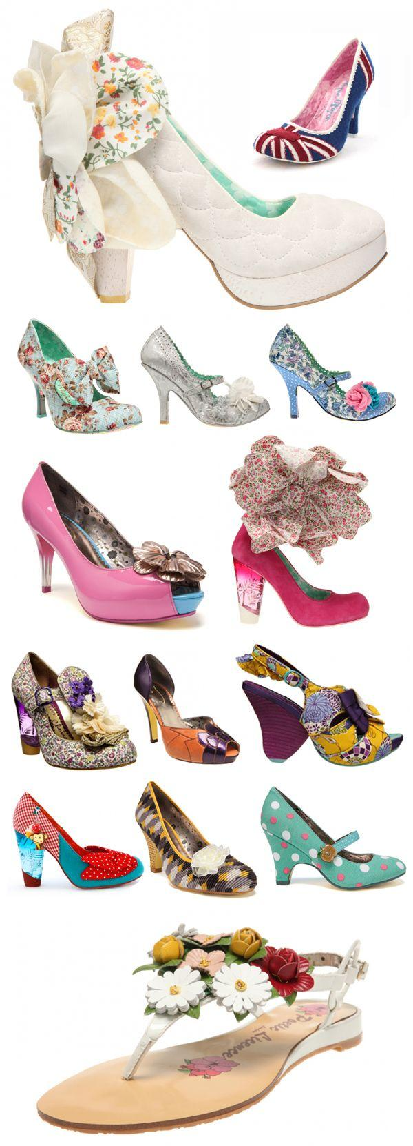 Свадьба - Irregular Choice Wedding Shoes - Belle Amour