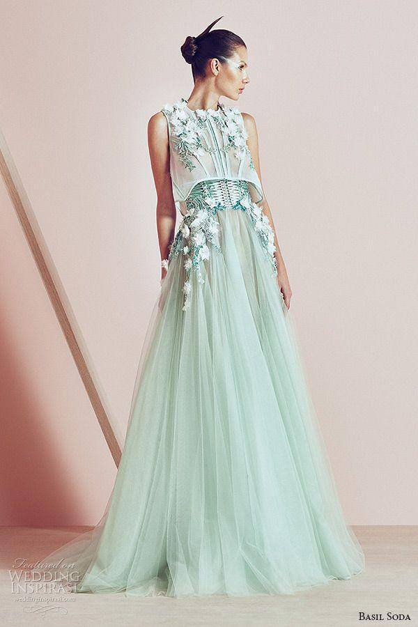 Wedding - Basil Soda Spring 2015 Couture Collection