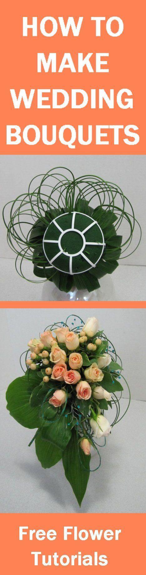 Wedding - How To Make Wedding Bouquets - Free Flower Tutorials