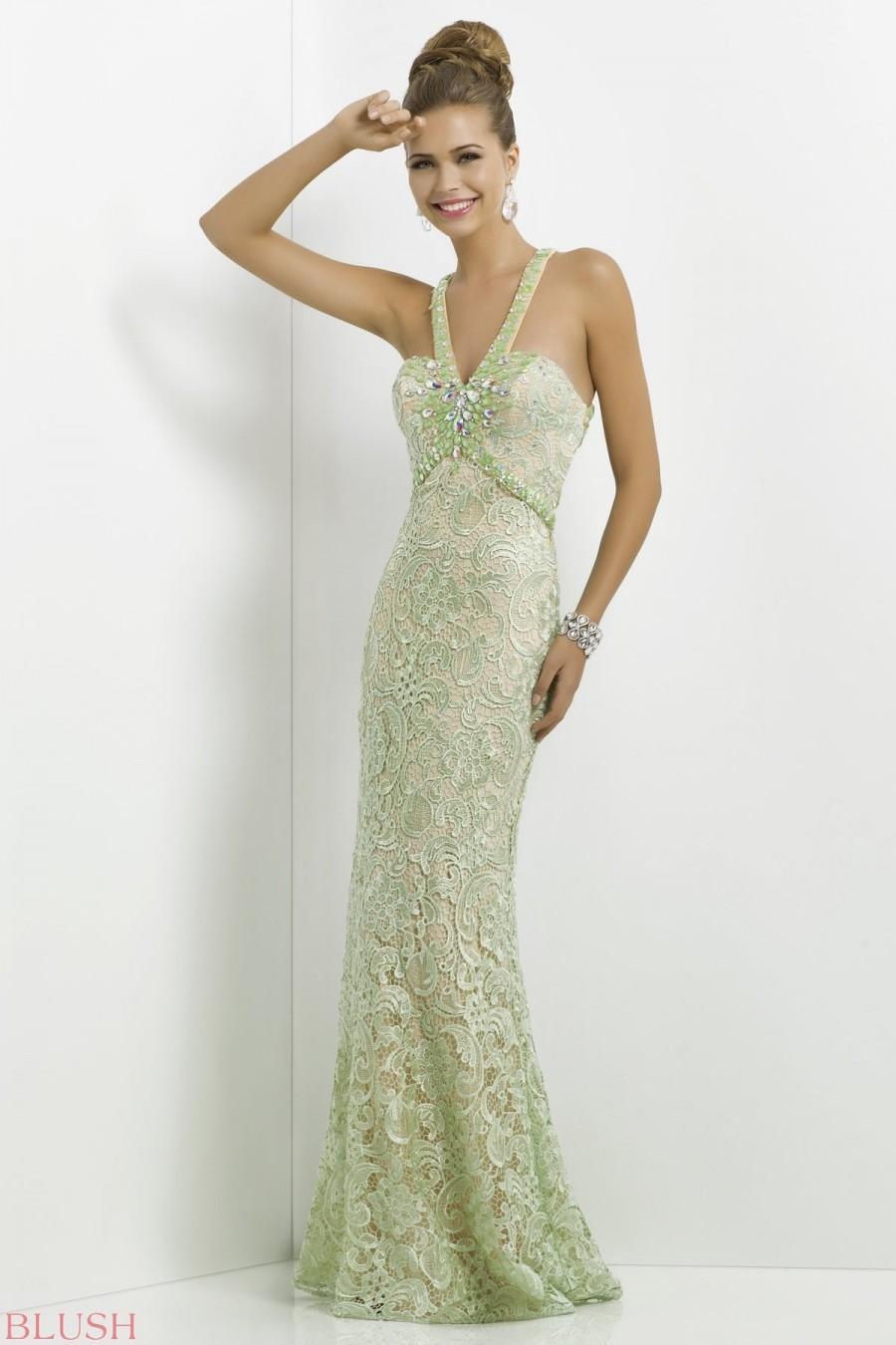 Blush Prom Dress Style 9753 2016 Spring Trends Dresses 2570250