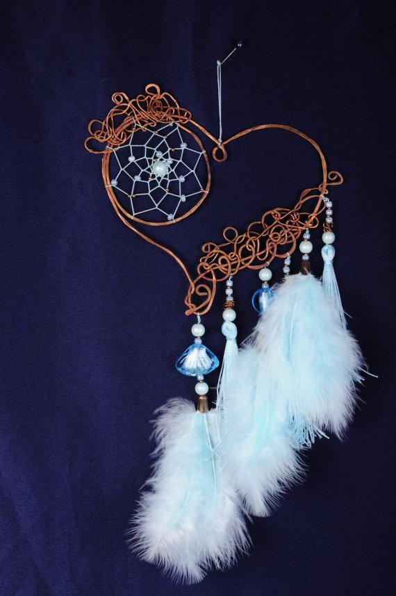 Dreamcatcher Valentine Blue Dream Catcher Large