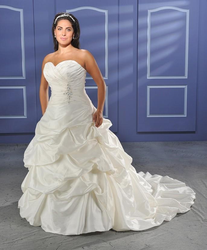 Bonny Unforgettable 1010 Plus Size Wedding Dress