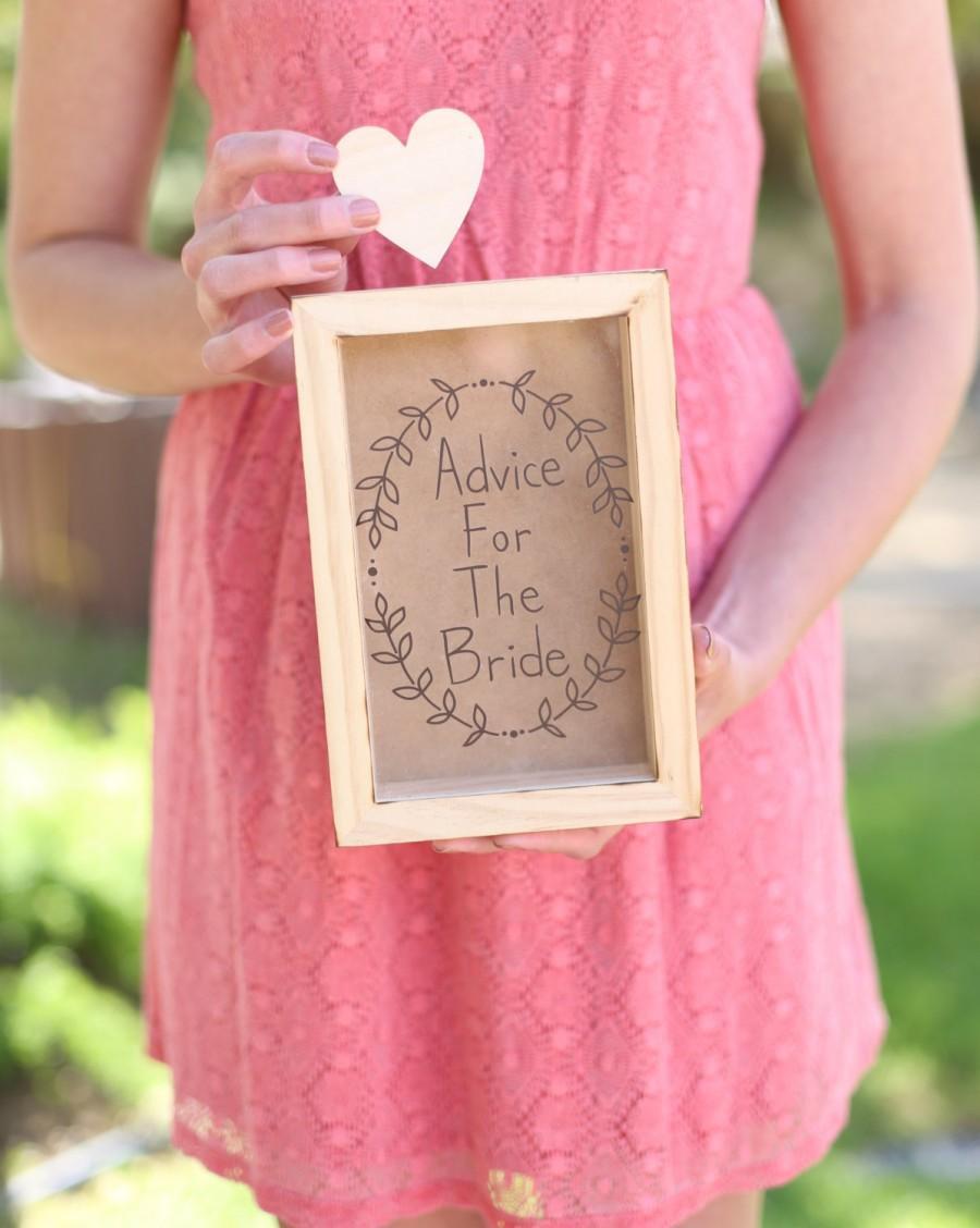 Wedding - Rustic Wedding Guest Book Alternative Shadowbox Hipster Chic (Item Number MMHDSR10062)