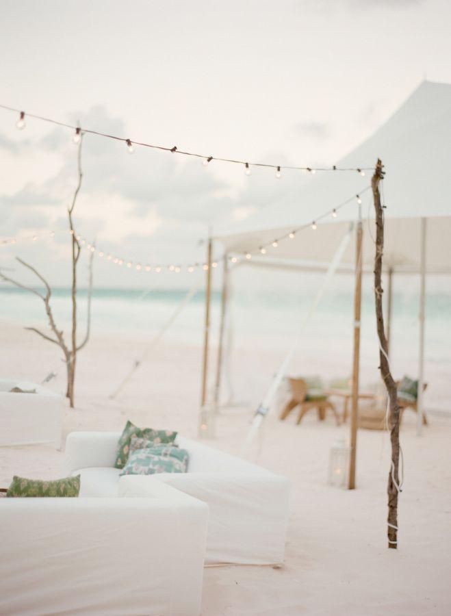 """Mariage - A White-on-White Celebration That Redefines """"Beach Wedding"""""""