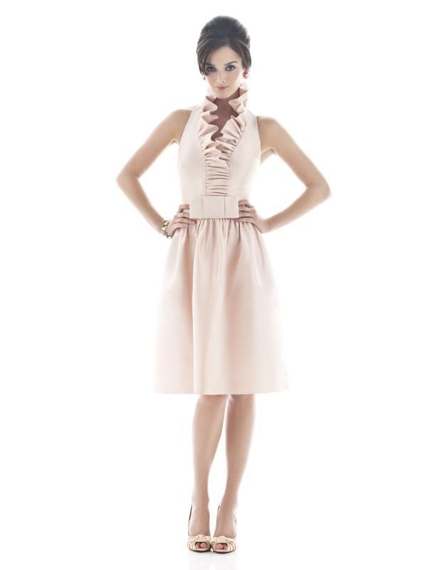 Wedding - Alfred Sung D468 - Burgundy Evening Dresses