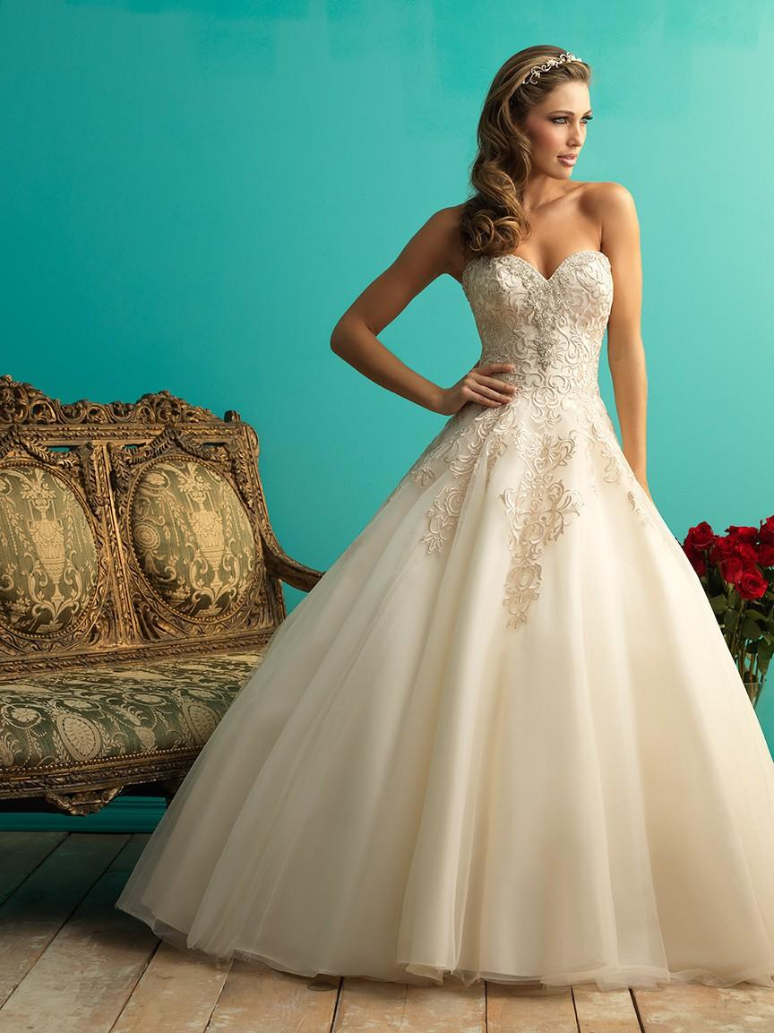 Allure Bridals 9270 Ball Gown Wedding Dress - Crazy Sale Bridal ...