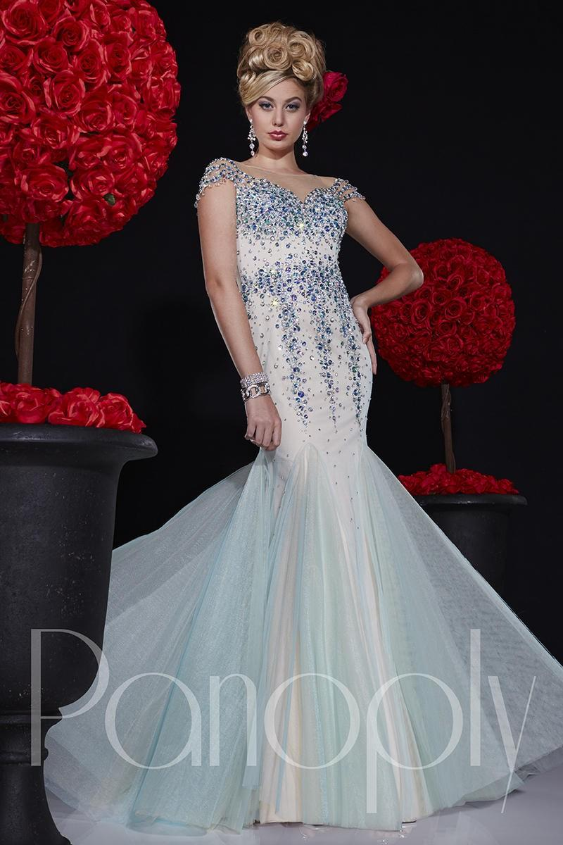 Mariage - Panoply 14666 Stylish Illusion Gown - Brand Prom Dresses