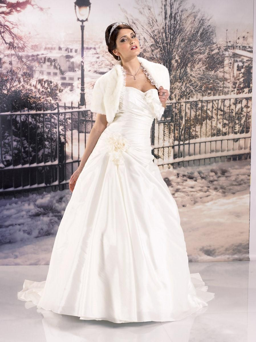 robe ivoire mariage